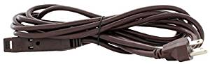 Holiday Lighting Outlet Extension Cord, 15' Brown 3 Prong, Christmas Light, Holiday Cord, Indoor Outdoor by Holidaylightingoutlet.com