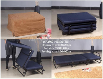 Guest Bed Ottoman & Folding Ottoman bed