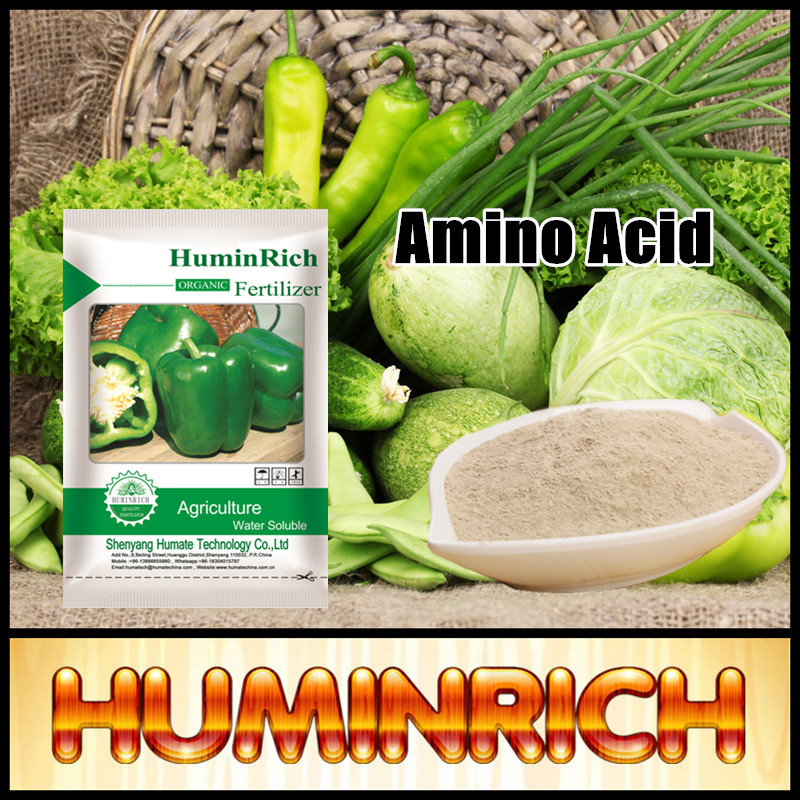 """HuminRich"" Agriculture Fertilizer Humate Seeds Growing Vegetal Amino Acid"