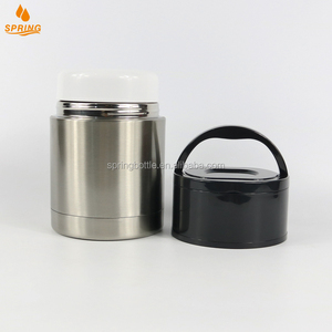 Double Wall Vacuum Insulated Stainless Steel BPA Free Food Jar Flask /Soup Thermos D-08-1