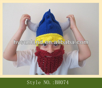 521a541417b Boy Or Girl Baby Viking Hat Baby Beard Hat