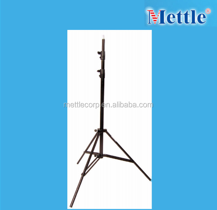 aluminum alloy 3 sections light stand for photo studio flash light-E111