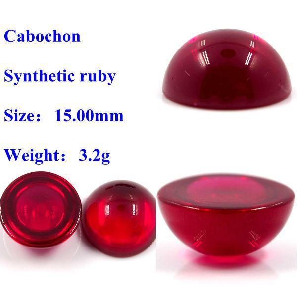 Lab Created Cabochon Corundum Marquise Burma Ruby Buy