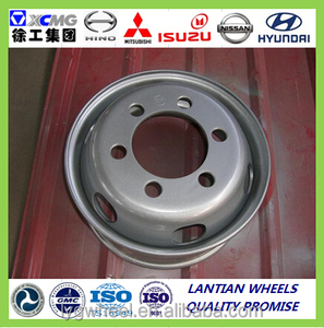 tubeless steel wheel 17.5x6.75 with 9R17.5 9.5R17.5 215/75R 17.5 tyre