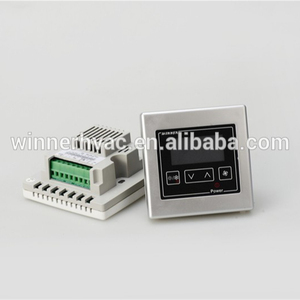 86*86*15 Standard LCD Hotel Room Thermostat Controller Switch