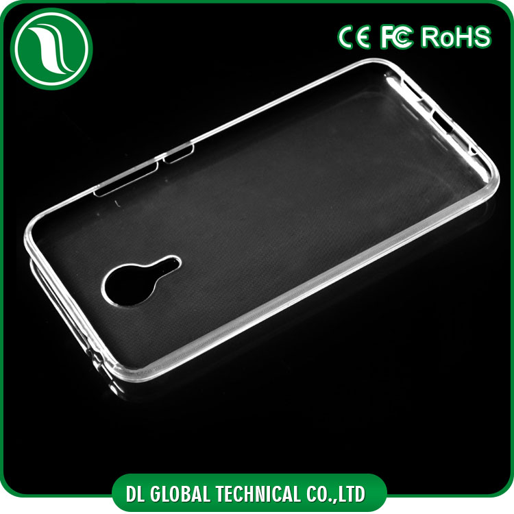 Factory wholesale phone cases 0.3mm Clear TPU Case for meizu mx5 DLPC24
