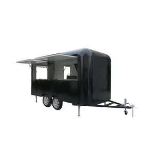 Factory supply ice cream cart fast food truck market stall With Wholesale Price