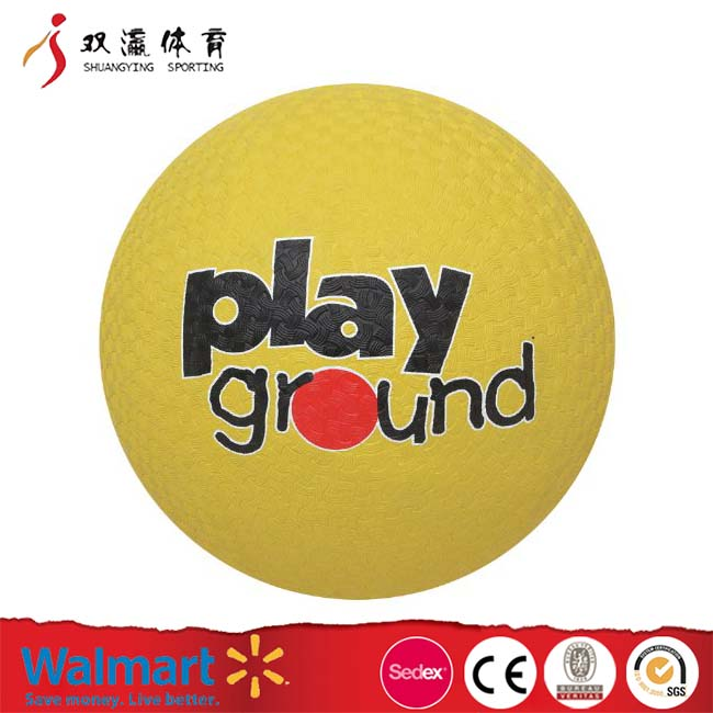 Playground Ball Fun, Safe, Innovative andEndearing,Extra Durable 8.5-Inch Utility Rubber Playground Ball