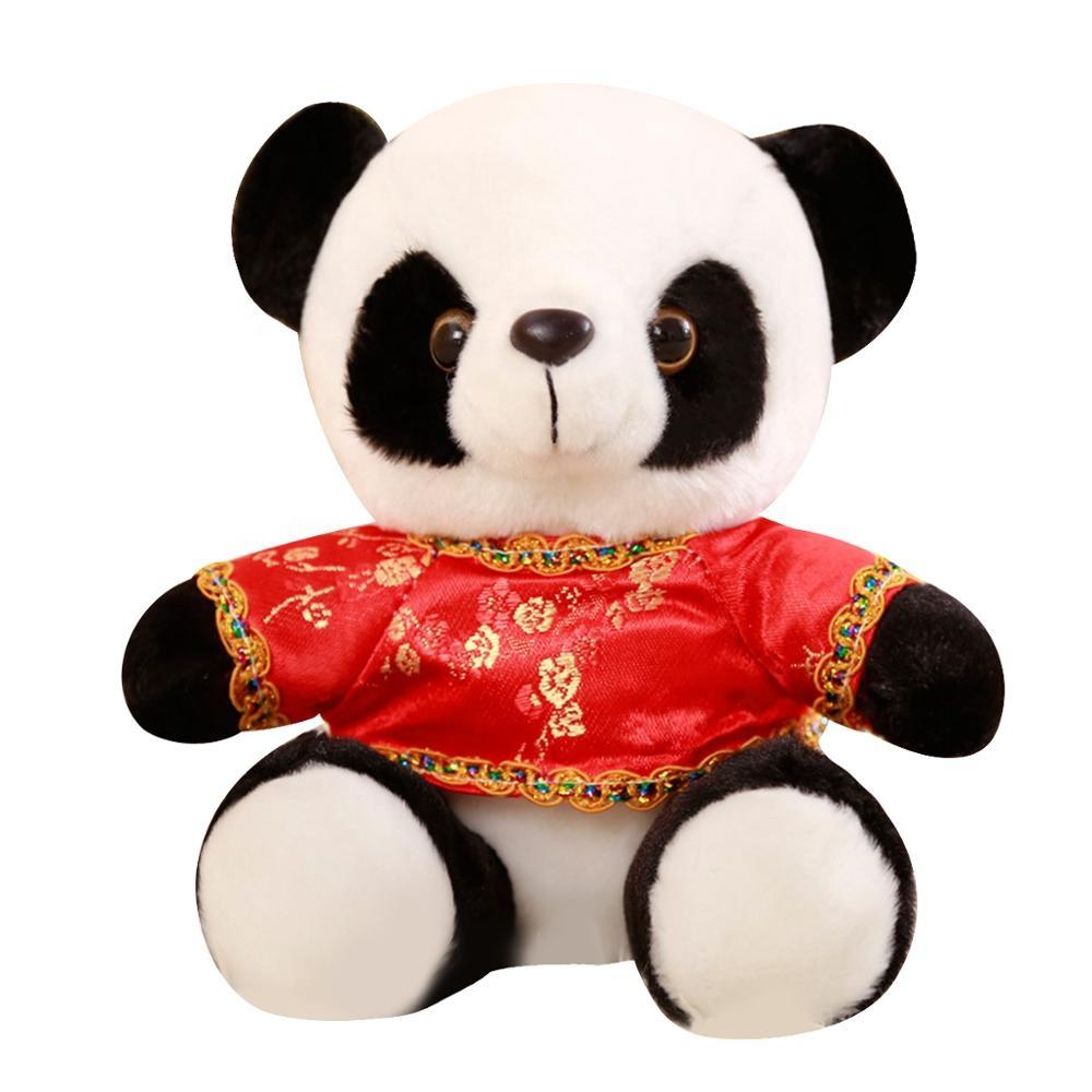 China factory animal cartoon character panda custom mascot