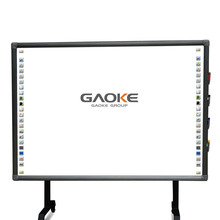 china trace board interactive electronic whiteboard with glitter marker 4-6 touch magic touch screen interactive whiteboard