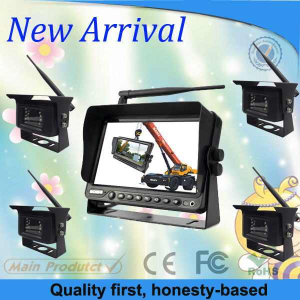 2013 Hot Model : 9 Inch Car Wireless Digital Camera System For Crane