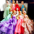 30 cm large size Anna elsa princess baby new design dress a variety of color toys