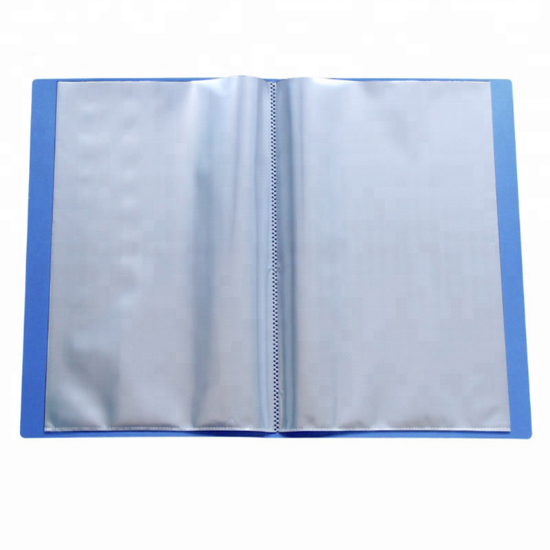 Briefpapier mappen Clear 30 Pocket A4 PP Display Boek