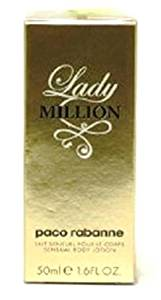 LADY MILLION By Paco Rabanne. Sensual Body Lotion 50ml-1.6fl.oz. For Women. New in Box.