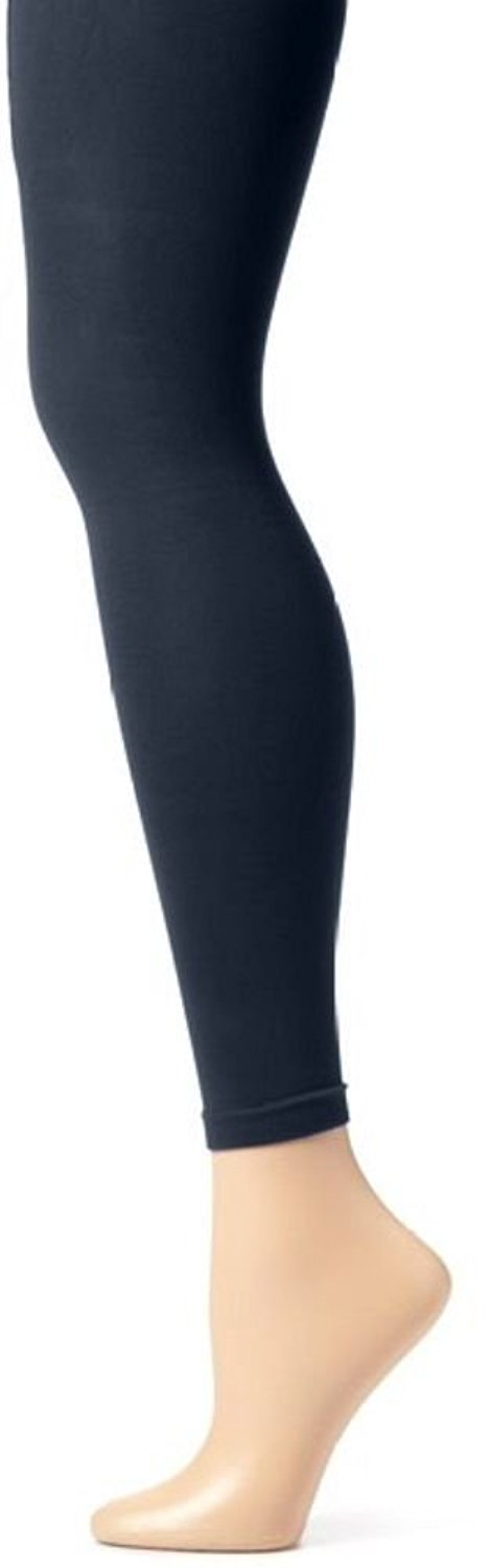 78b53c27e23db Butterfly Hosiery Girls' School Uniform Full Length Seamless Leggings Opaque  Footless Tights