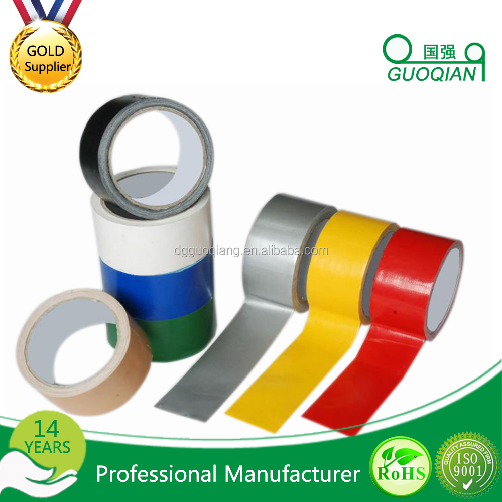 wholesale PVC Waterproof Heavy Duty Strong Gaffer Cloth Duct Tape