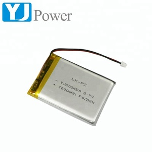 3 .7v Small li-polymer Battery 1000mAh for Model navigation toys