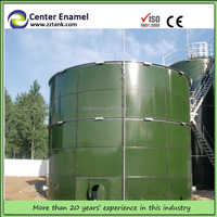 Vitreous Enameled Bolted Sectional Steel Tanks for Jet Aviation fuel Storage