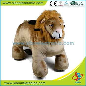 GM59 high profit products plush animal rides for park