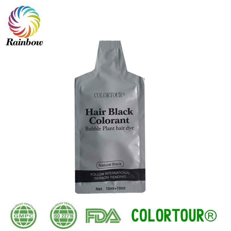 COLORTOUR Amazing Easy Use Black Hair Coloring Hair coloring products black hair dye shampoo