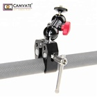 "CAMVATE Pole Clamp Mount with Super Clamp and 360 degree Rotating Mini Ball Head for mini 7"",8"" Monitor"