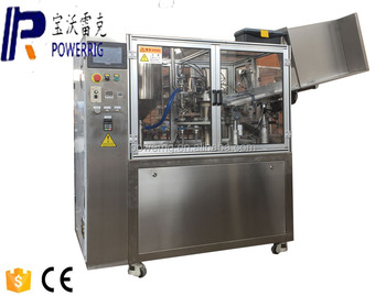 FWJ-60 Scale Automatic toothpaste tube filling machine 10-250 plastic tube filling sealing