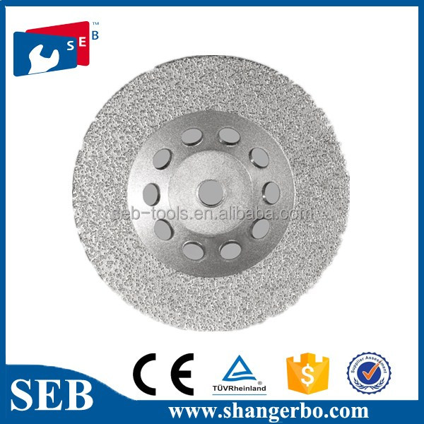 SEB continuous vacuum brazed diamond saw blade