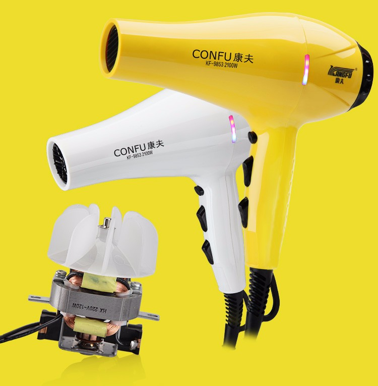 Led Light Salon Use 2100W Professional A Hair Dryer
