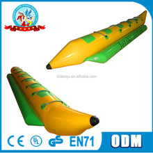 2017 hot selling inflatable Banana water boat kids water boats