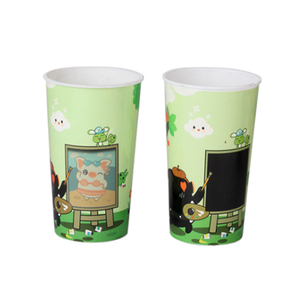 cheapest Plastic PP mugs drinkware type change color tea cup in Shenzhen factory