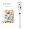 Electric Kill 99.9% Bacteria Toothbrush sanitizer holder Mini uv sterilizer toothbrush