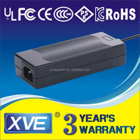 12V10A power supply AC/DC adapter with UL/CUL/FCC/CB/GS/CCC/CE certification adapter