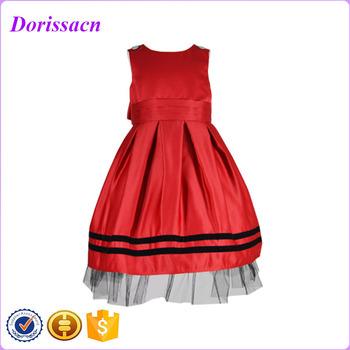 b36ce0648 Patrones para satén faja blusa vestidos vestido de cumpleaños para bebé niña  de 3 años de