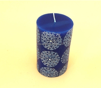 Perfume handmade wedding non-toxic pillar candle in bulk