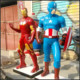 Frp Captain America Sculpture The American Film Game Character