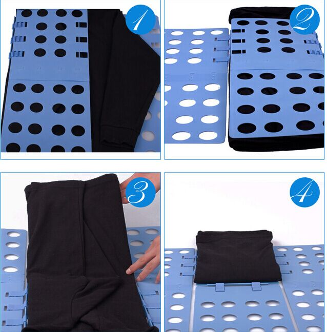 Magic Fast Speed Clothes Folder T -Shirts Fold Board For adult Fold Garment Board high quality
