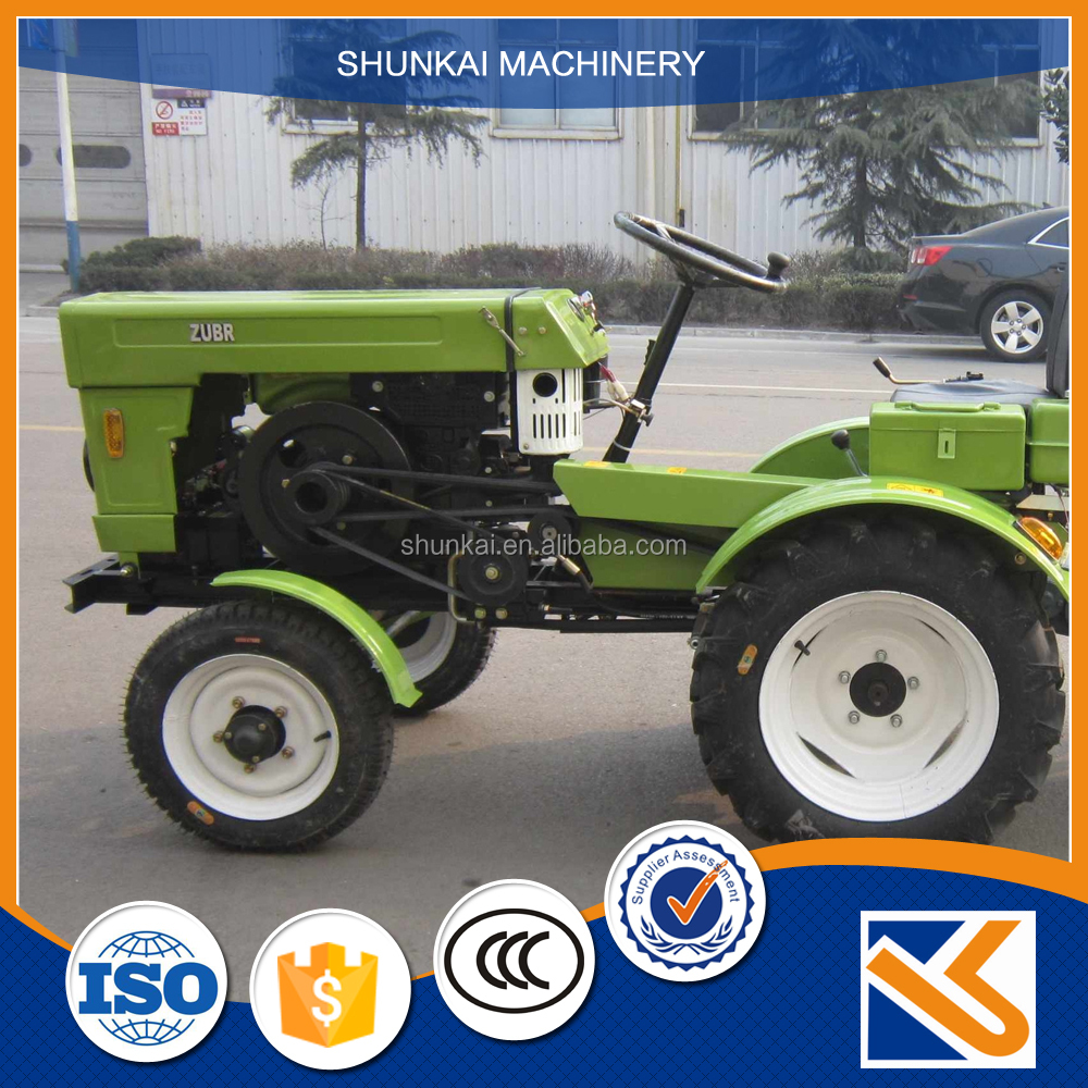 High Quality angd Best Price micro chinese garden tractor with loaders