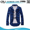 Custom Fancy Plaid Latest Shirt Designs for Boys