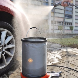 Mini Portable Car Washing Equipment With High Pressure With factory outlet price with folding bucket
