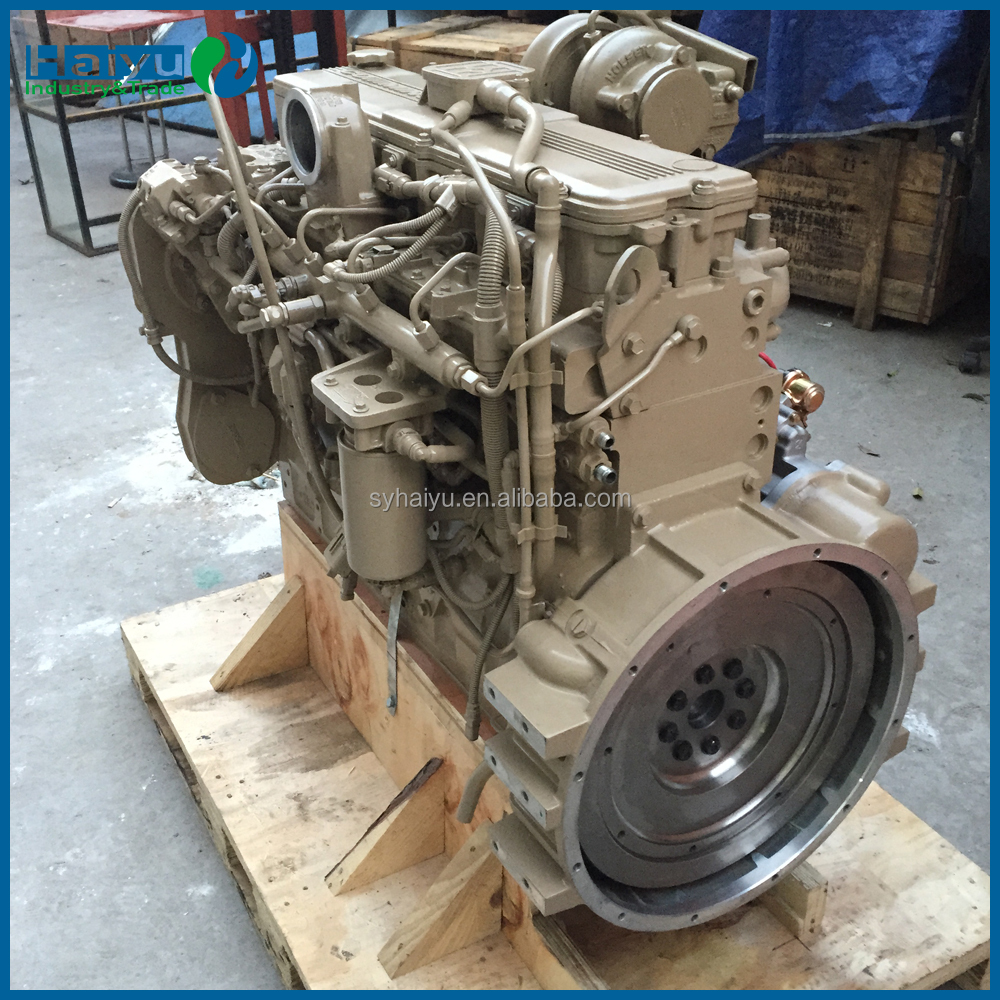 Original Cummin QSL9 engine assembly