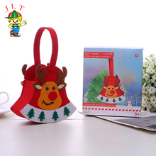 Best selling unique design diy felt cloth christmas ornaments with different size