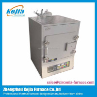 high temperature touch screen nitriding furnace for metal treatment laboratory