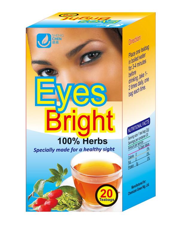 Chinese Wolfberry Eye Bright Tea Bag 2g*20bags /box Customized Top Grade  Eye Bright Tea - Buy Customized Top Grade Eye Bright Tea Green Boi Tea