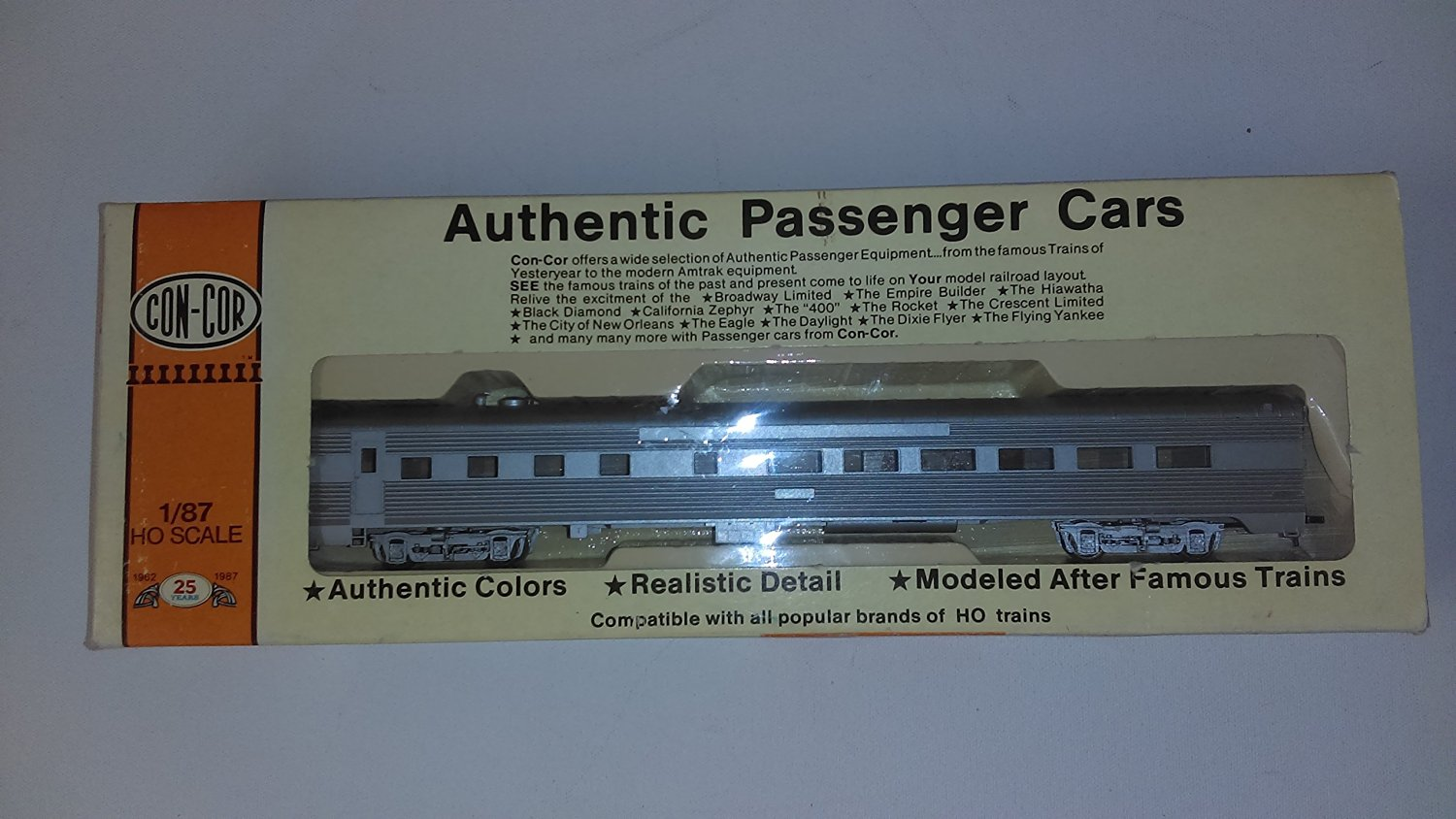 Authentic Passenger Cars 1/87 Scale