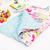 Infant kids anti kicking sleeping bag quilt for four seasons 100% cotton fabric and quilt my kingdom
