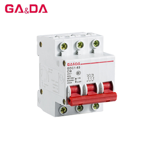 Highly flame-retardant two pole n triple poles DZ47-63 16 amp type circuit breaker prices of mccb