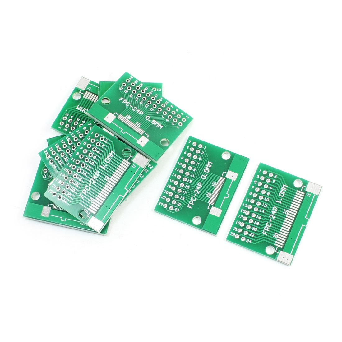 10 x FPC-24P FFC-24P to DIP24 Double Sides PCB Board Adapter Converter
