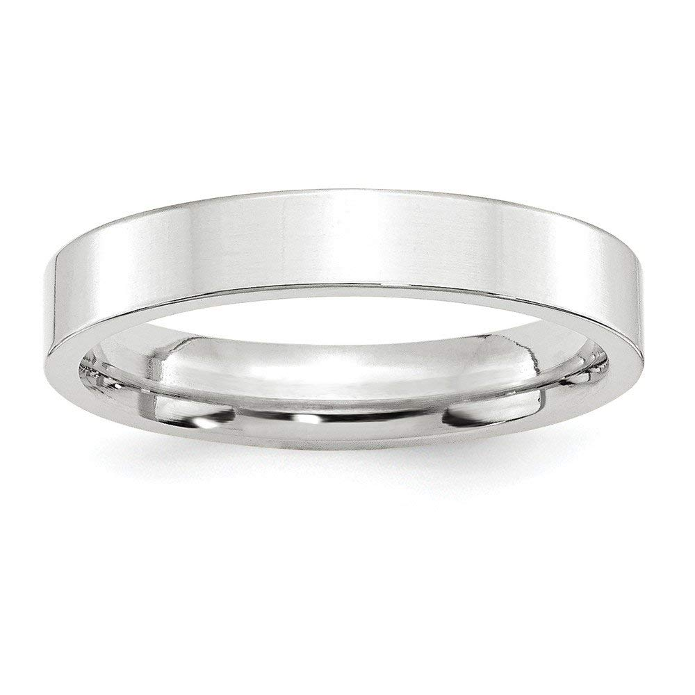 Jewelry Best Seller 10KW 4mm Standard Flat Comfort Fit Band Size 8