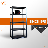Wholesale Display storage rack Stand 5 adjustable metal shelves