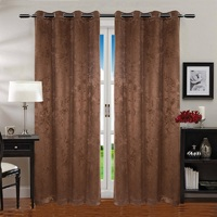 2017 New polyester blackout curtain fabric for wholesale